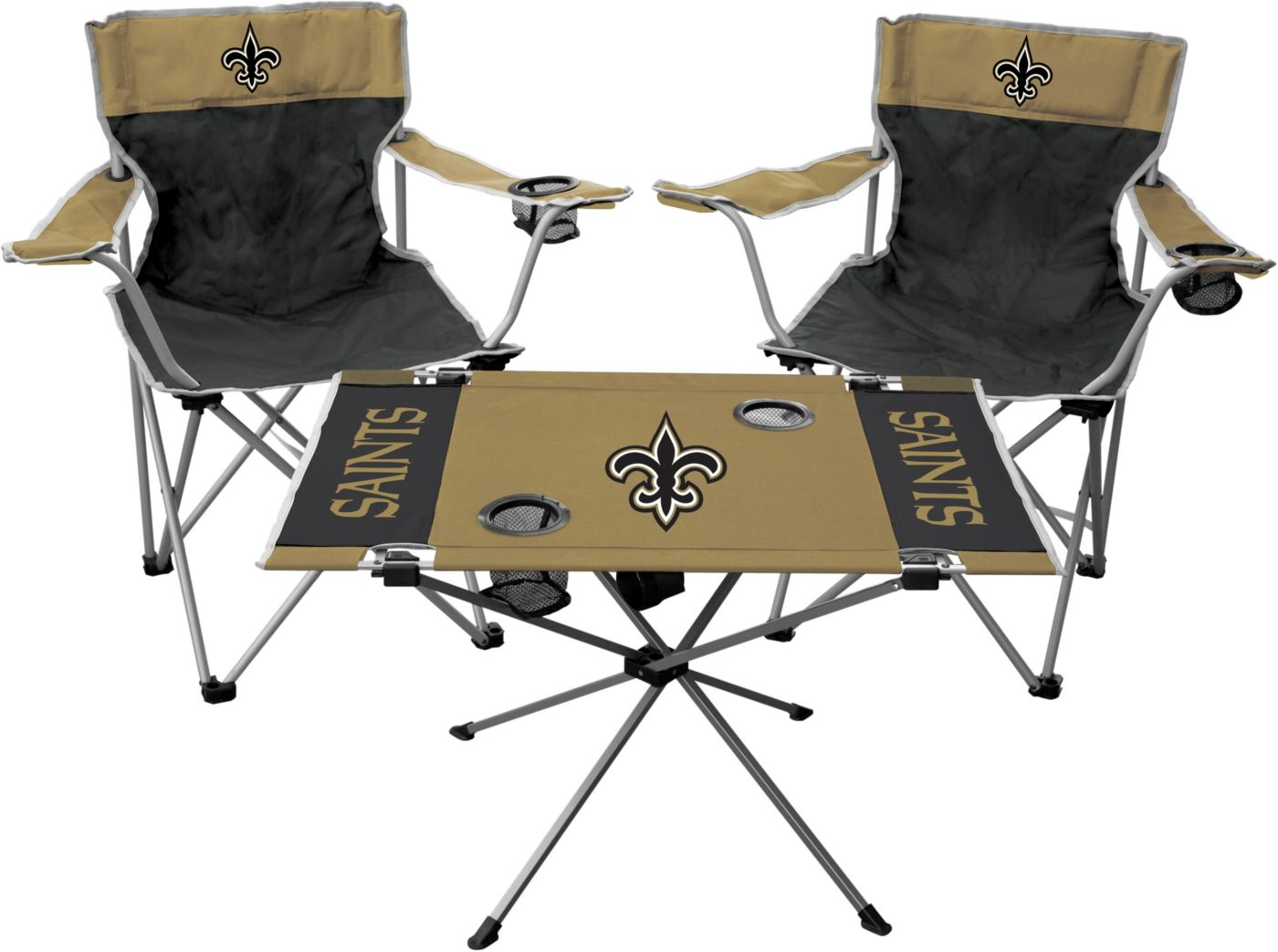 Rawlings New Orleans Saints 3-Piece Tailgate Kit