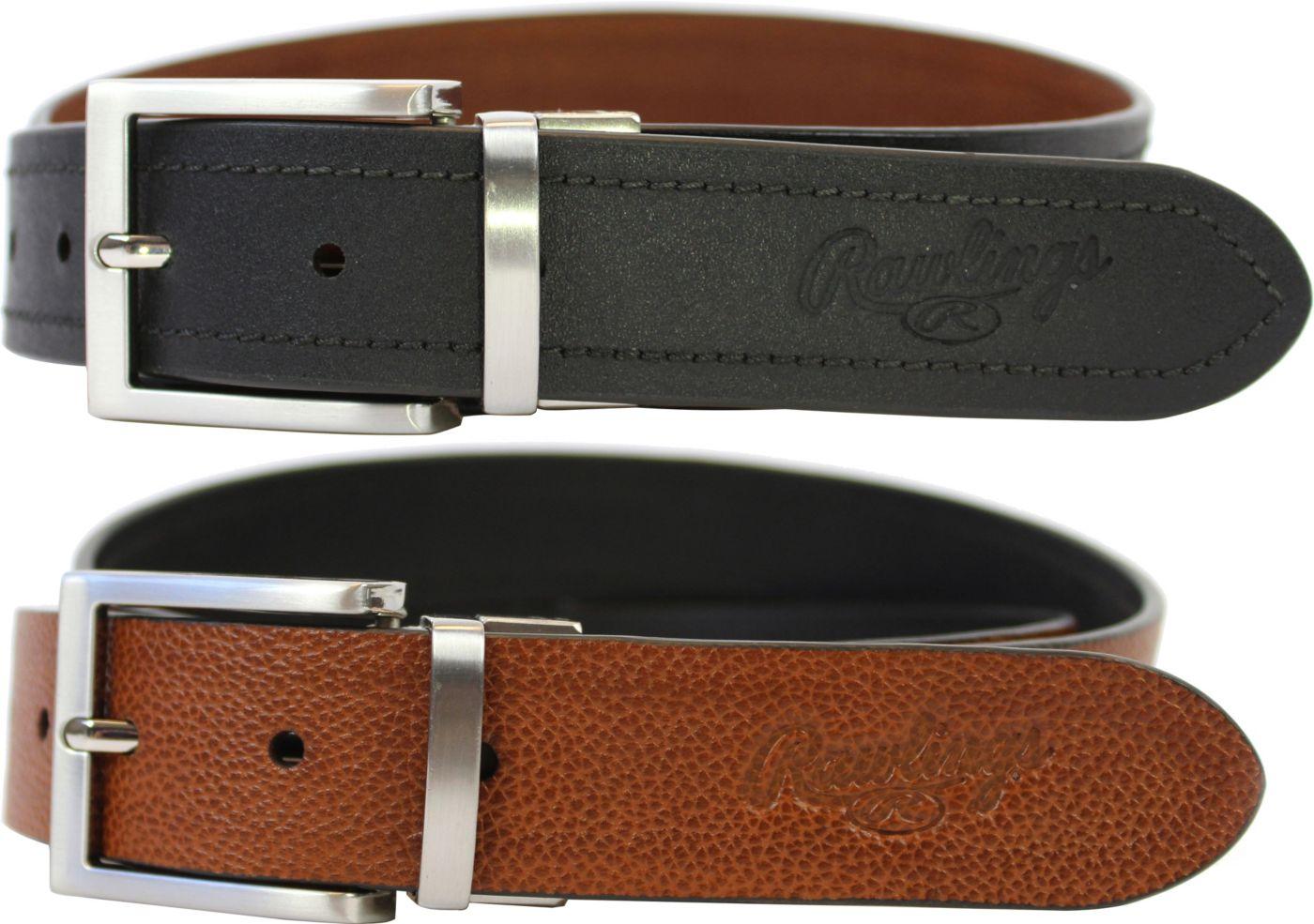 Rawlings Reversible Leather Belt