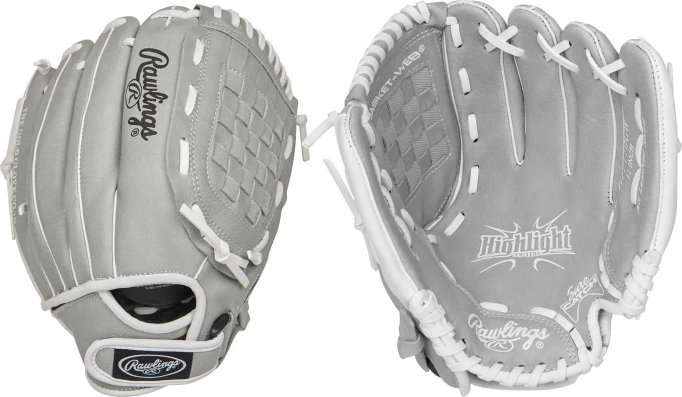Rawlings 11'' Girls' Highlight Series Fastpitch Glove 2020