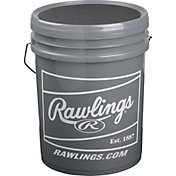Rawlings 6-Gallon High School Practice Baseball/Bucket Combo - 24 Pack