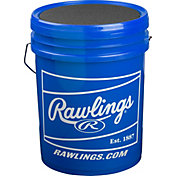 Rawlings 6-Gallon Youth Practice Baseball/Bucket Combo - 30 Pack