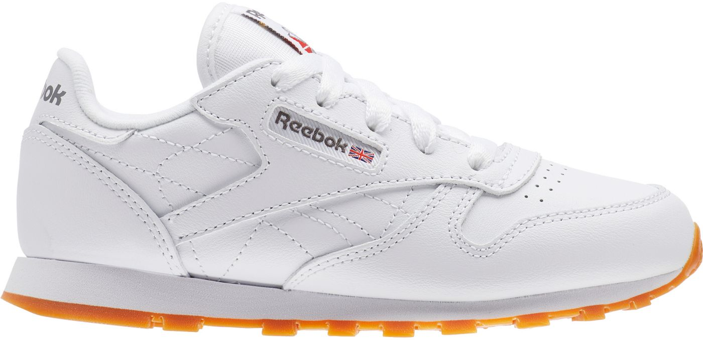 Reebok Kids' Preschool Classic Leather Shoes