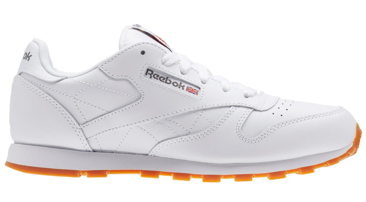 Reebok Kids' Grade School Classic Leather Shoes