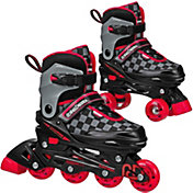 Roller Derby 2N1 Boys' Inline and Quad Combo