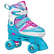 Roller Derby Girls' Adjustable Quad Skates