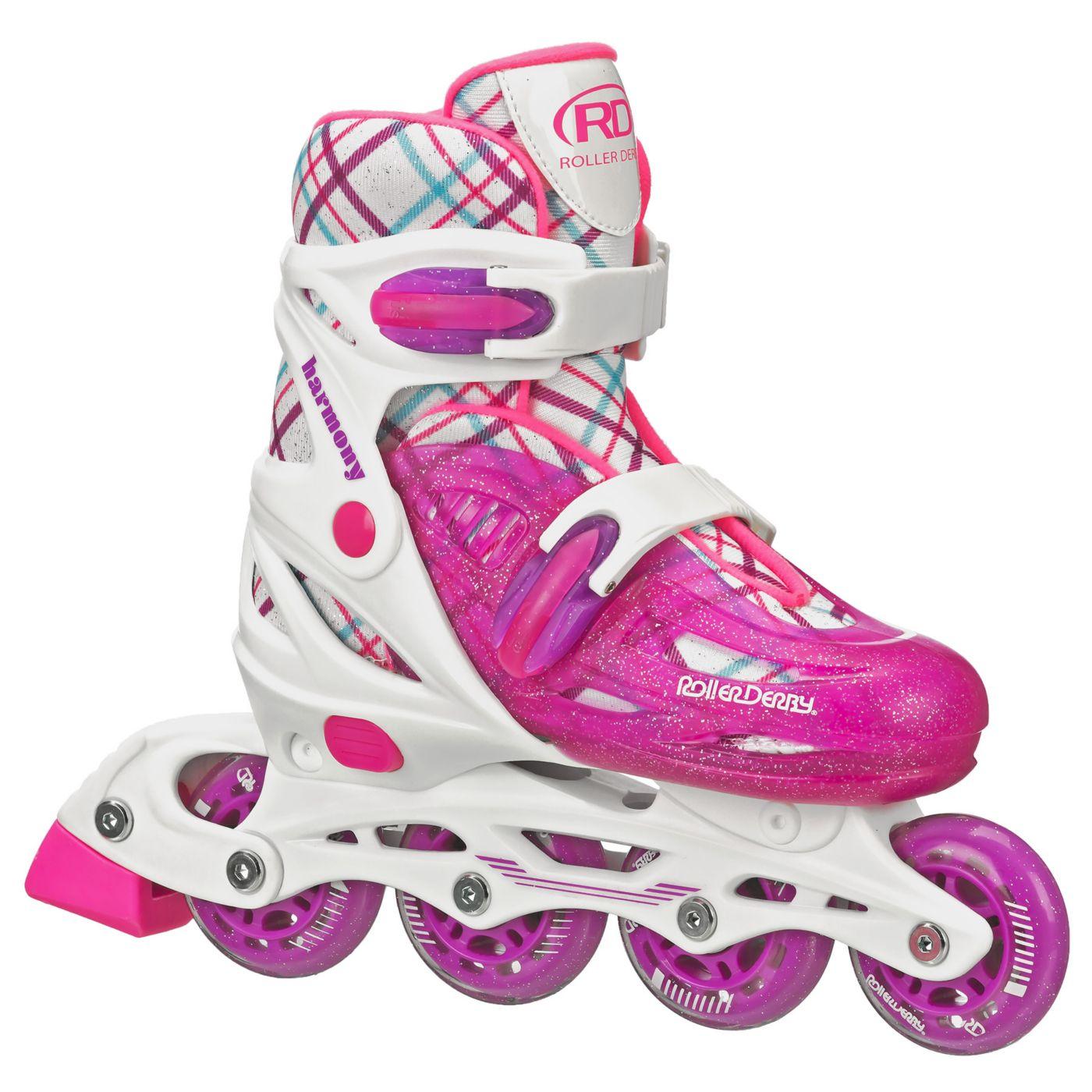 Roller Derby Girls' Harmony Adjustable Inline Skates