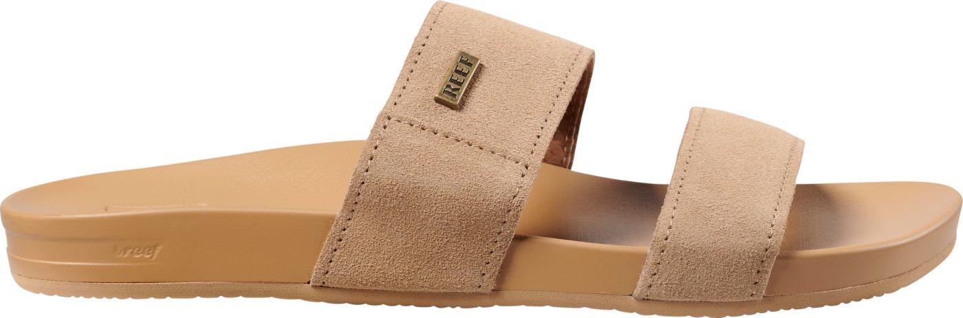 Reef Women's Cushion Bounce Vista Suede Sandals