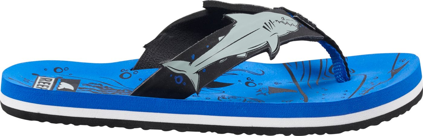 Reef Kids' Ahi Shark Flip Flops
