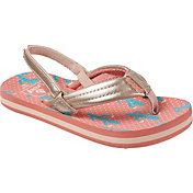 Reef Kids' Little Ahi Cactus Flip Flops