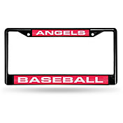 Rico Los Angeles Dodgers Colored Chrome License Plate Frame