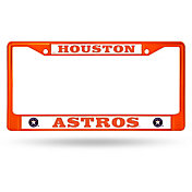 Rico Houston Astros Chrome License Plate Frame