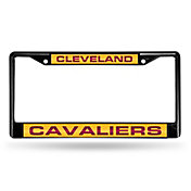 Rico Cleveland Cavaliers Black Laser Chrome License Plate Frame