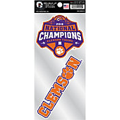 Rico 2018 National Champions Clemson Tigers Sticker Sheet