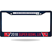 Rico Super Bowl LIII Bound New England Patriots Blue License Plate Frame