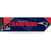 Rico Super Bowl LIII Champions New England Patriots Bumper Sticker