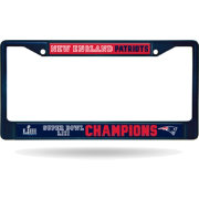 Rico Super Bowl LIII Champions New England Patriots Color Chrome Frame