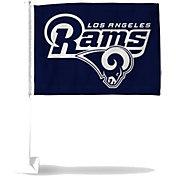Rico Los Angeles Rams Navy Car Flag