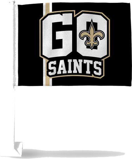 Rico New Orleans Saints Go Saints Car Flag