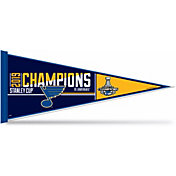 Rico 2019 NHL Stanley Cup Champions St. Louis Blues Pennant