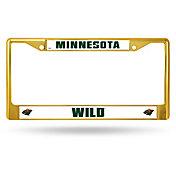 Rico Minnesota Wild Colored Chrome License Plate Frame