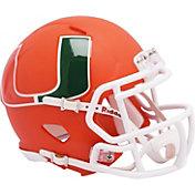 Riddell Miami Hurricanes Speed Mini Alternate Football Helmet