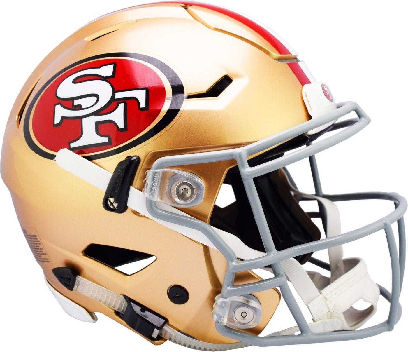 Riddell San Francisco 49ers Speed Flex Authentic Football Helmet