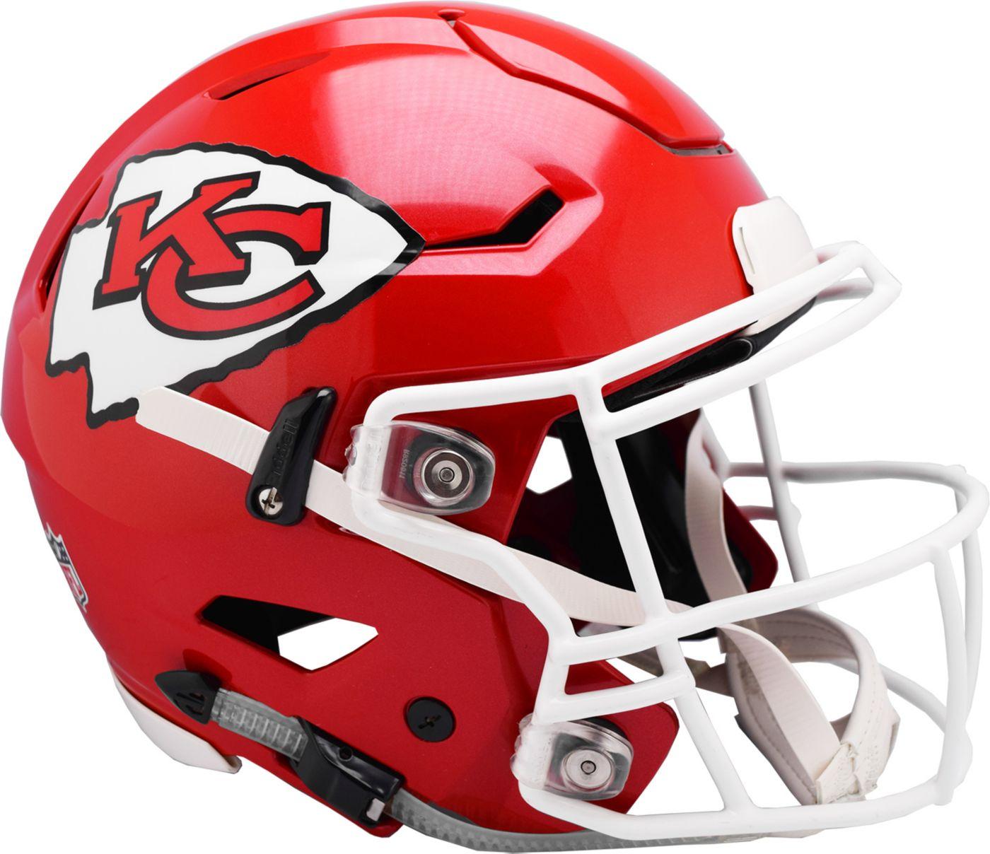 Riddell Kansas City Chiefs Speed Flex Authentic Football Helmet