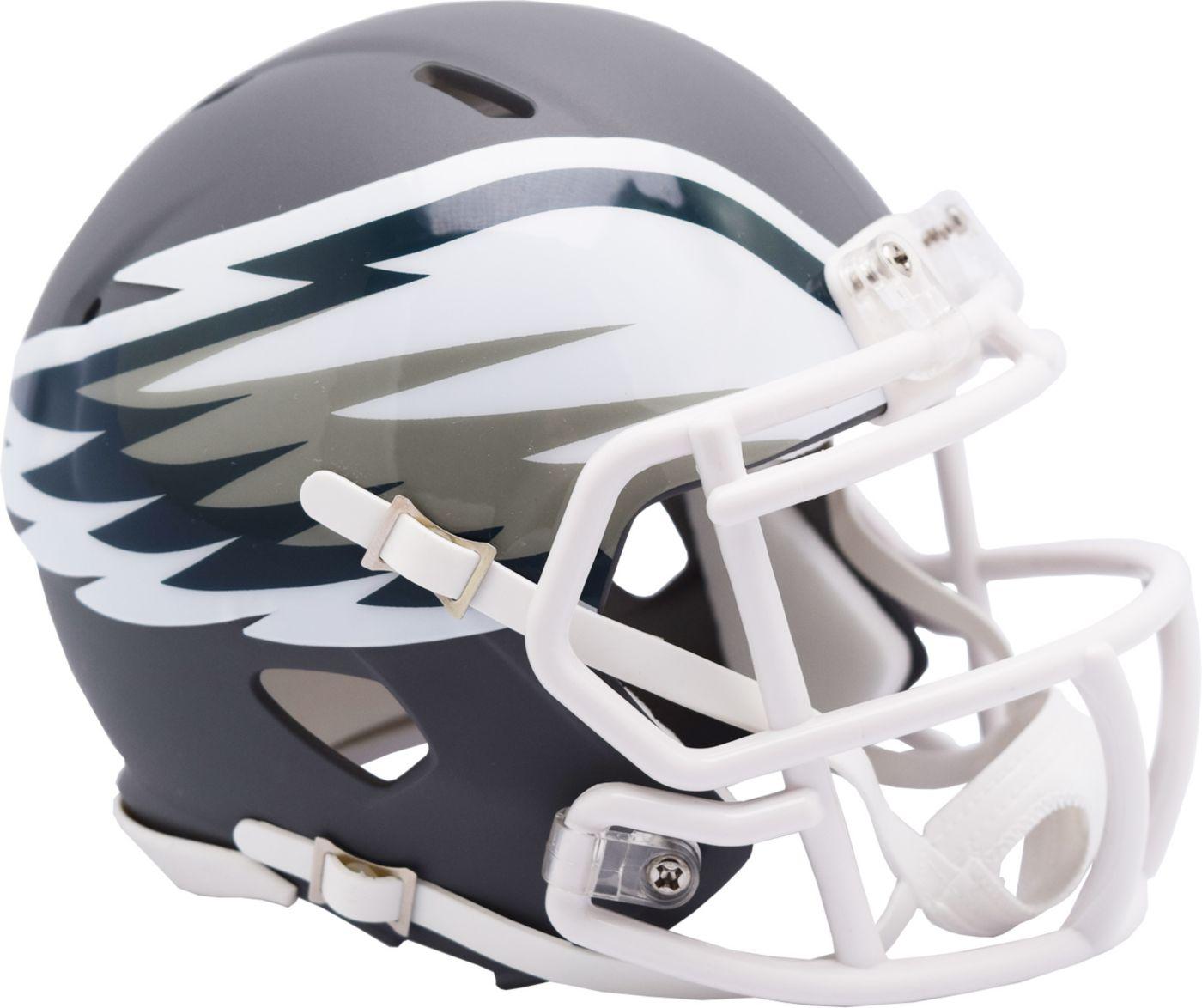 Riddell Philadelphia Eagles AMP Speed Mini Football Helmet