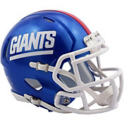 Riddell New York Giants Speed Mini Color Rush Football Helmet