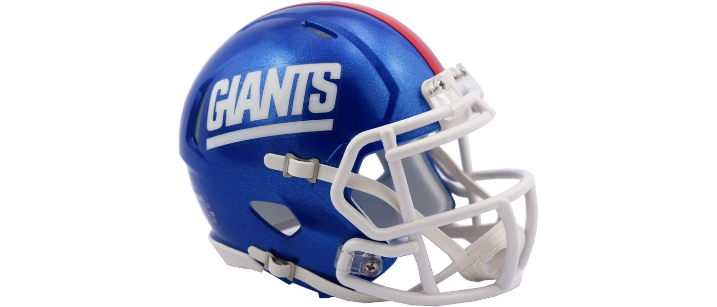 Riddell New York Giants Speed Mini Color Rush Football Helmet