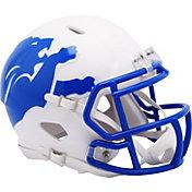 Riddell Detroit Lions AMP Speed Mini Football Helmet