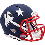 Riddell New England Patriots AMP Speed Mini Football Helmet
