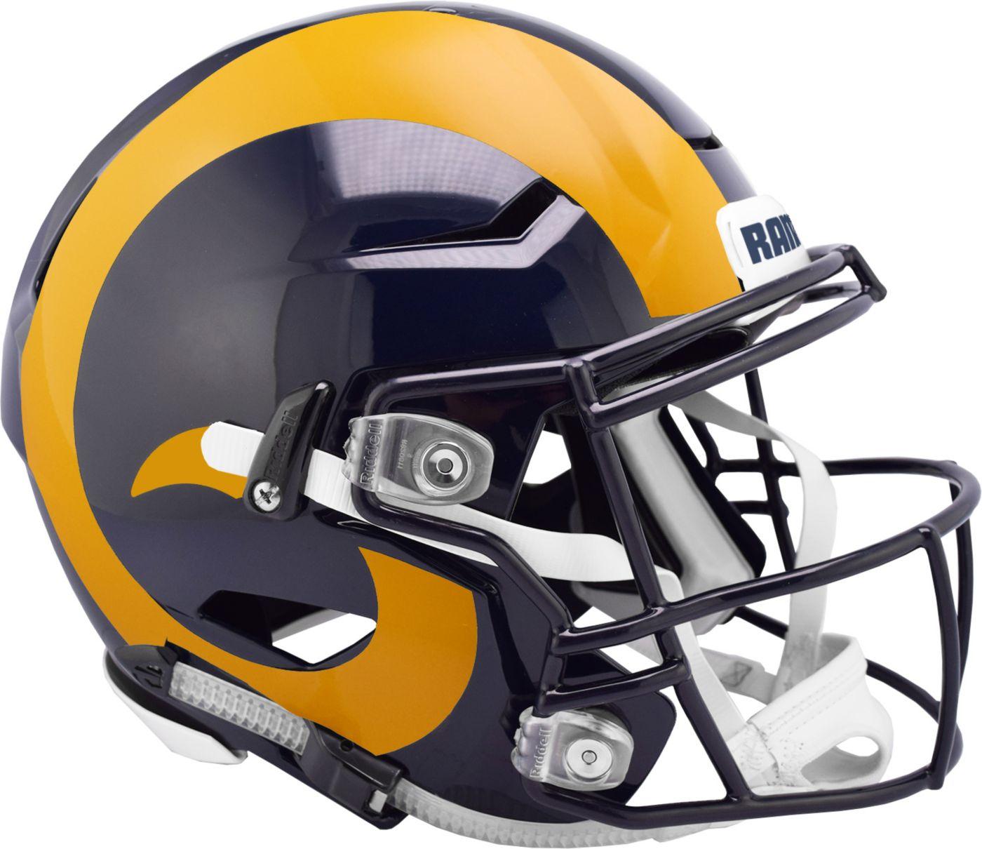 Riddell Los Angeles Rams Speed Flex Authentic Football Helmet