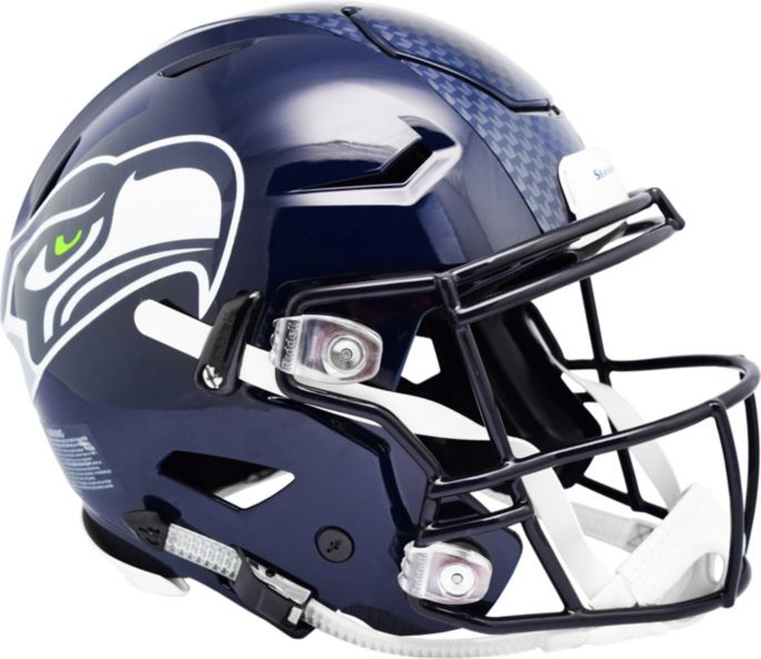 Riddell Seattle Seahawks Speed Flex Authentic Football Helmet