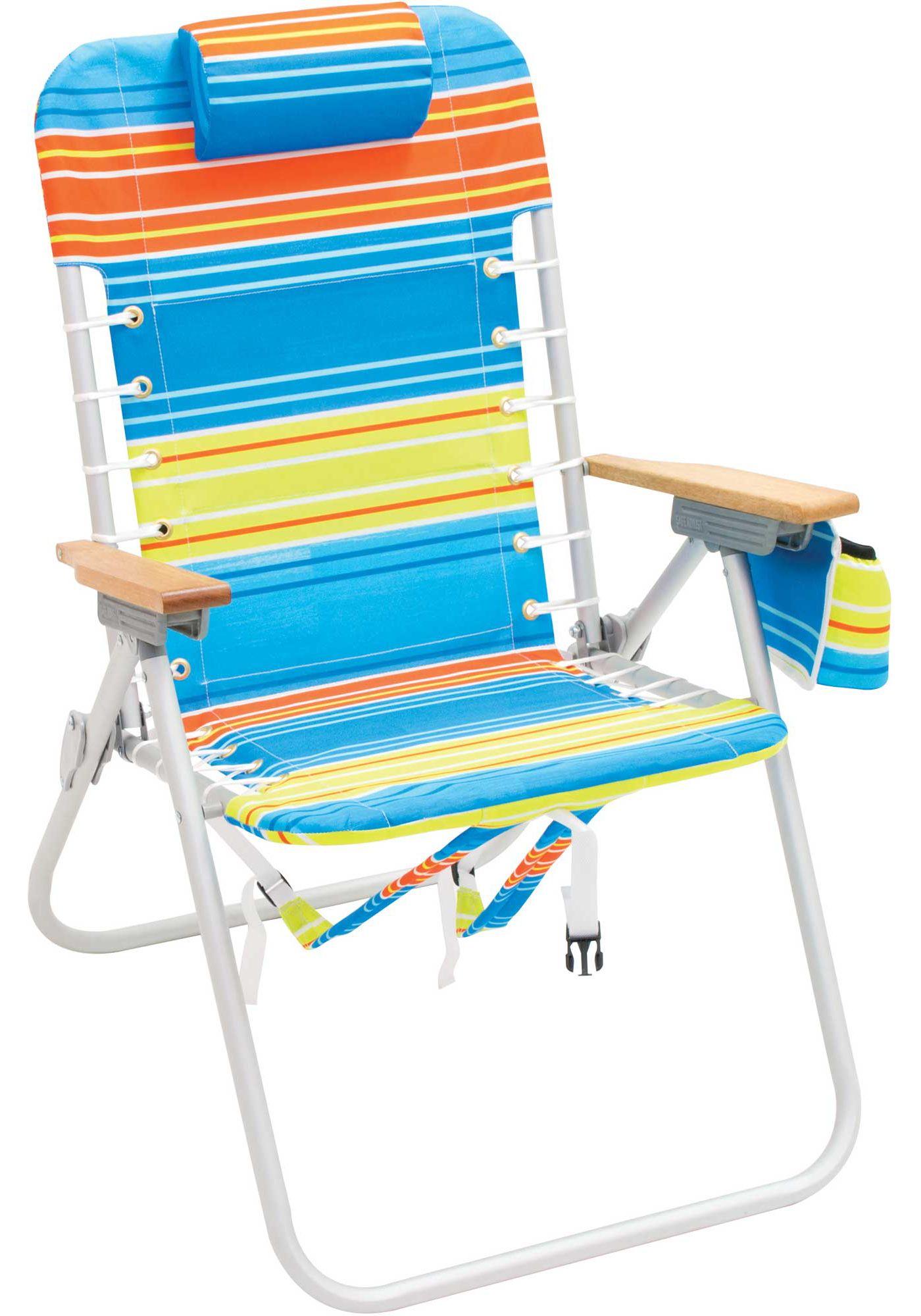 RIO 4-Position Backpack Beach Chair