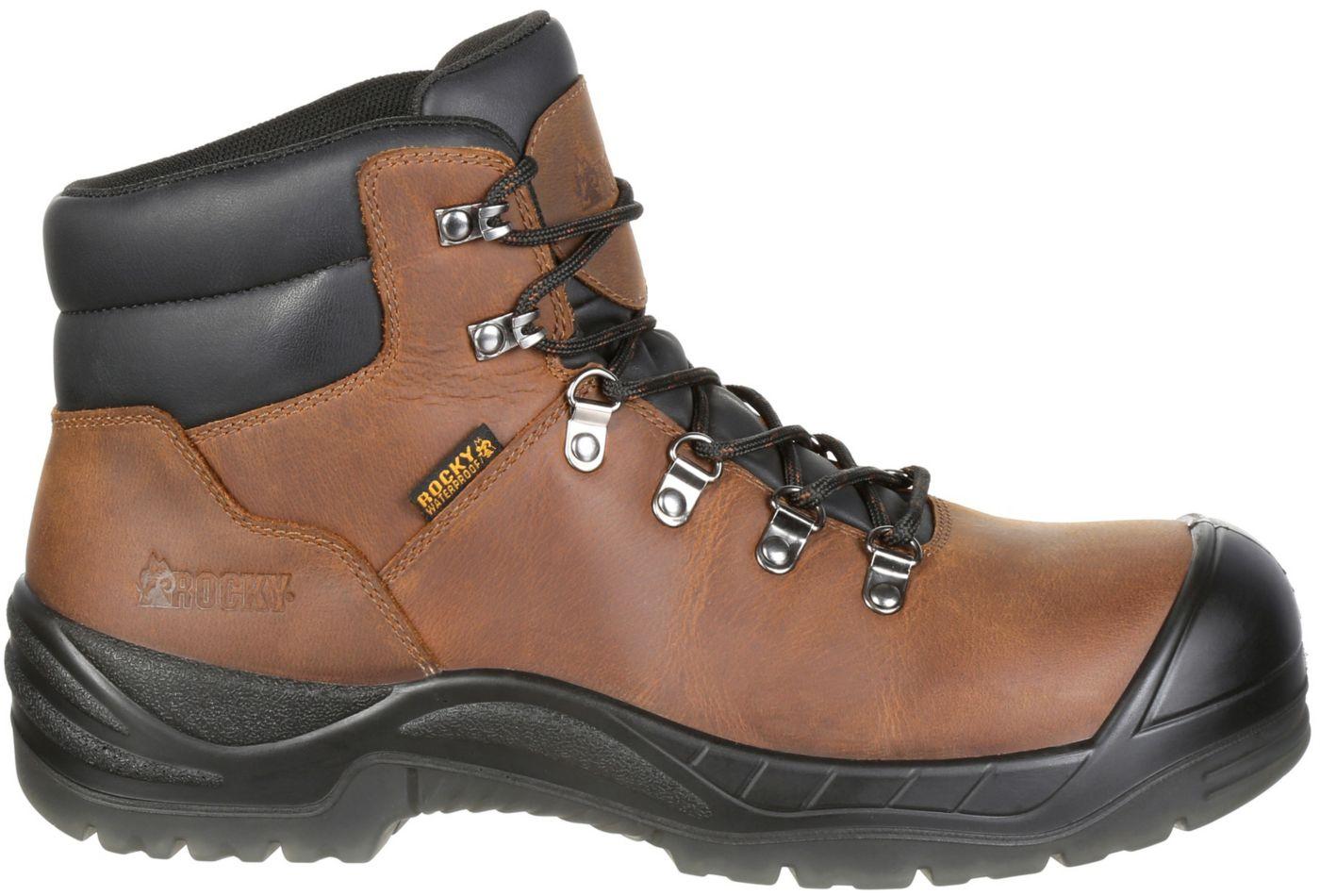 Rocky Men's Worksmart 5'' Waterproof Composite Toe Work Boots