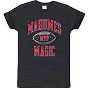 Charlie Hustle Men's Mahomes Magic MVP Vintage Black T-Shirt