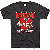 Charlie Hustle Men's Nightmare Okoye Vintage Black T-Shirt