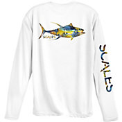 Scales Gear Men's Tropical Tuna Performance T-Shirt