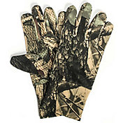 QuietWear Men's Camo Spandex Gloves