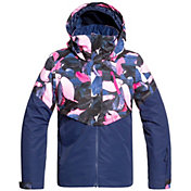 Roxy Girls' Frozen Flow Snow Jacket