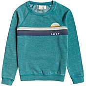 Roxy Girls' Gold Tree A Sweatshirt