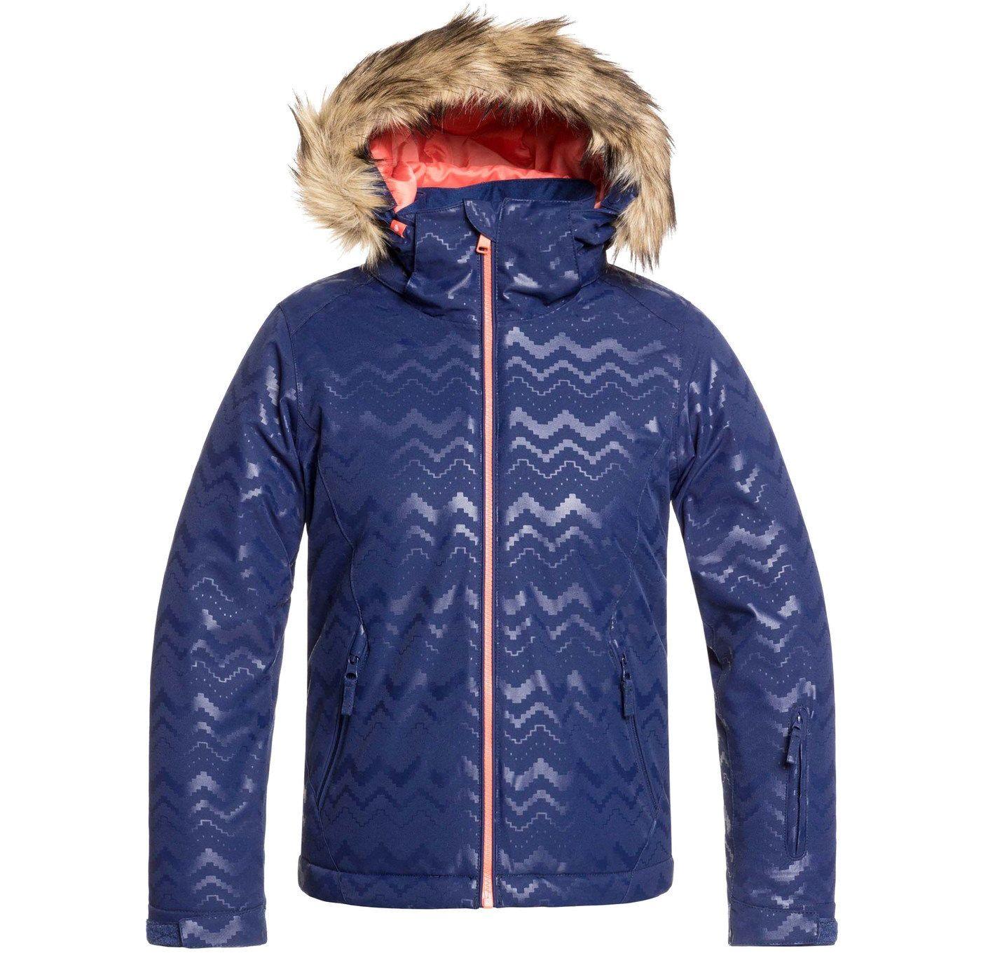 Roxy Girls' American Pie Snow Jacket