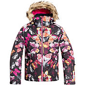 Roxy Girls' American Pie Snow Jacket