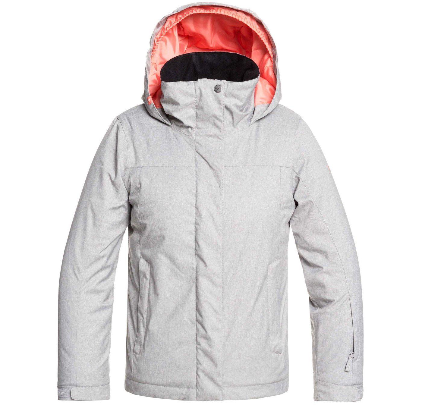 Roxy Girls' Jetty Solid Snow Jacket