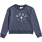 Roxy Girls' Two Trees Drop Shoulder Sweatshirt