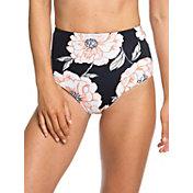 Roxy Women's Beach Classics High Waist Bikini Bottoms
