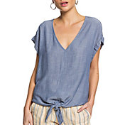 Roxy Women's Born to Try Short Sleeve Top