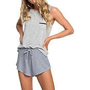 Roxy Women's Forbidden Summer Stripe Sweat Shorts