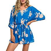 Roxy Women's Loia Bay Short Sleeve Cover Up Dress